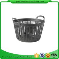 "Quality Flexible Small Outdoor Basket Planter 9-1/2"" in diameter x 8"" H overall for sale"