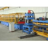 Quality High Speed Steel Roll Forming Machine , Highway Guardrail Roll Forming Machine for sale
