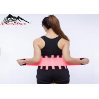 Quality Curves Trimming Waist Support Brace Breathable Neoprene For Men / Woman for sale