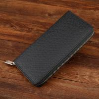 Quality Multi Card Bits Genuine PU Black Leather Wallet Womens For Putting Iphone 6 Plus for sale