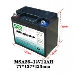 Quality Long Lasting 12 Volt Lithium Battery Pack , 12v Battery Pack For Led Lights for sale