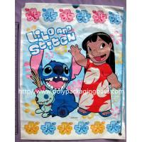 China Customized Printed Plastic Drawstring Backpack Bags For Shopping / Promotional on sale