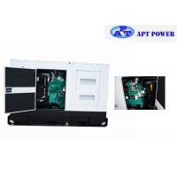 China 30kVA Land Use Cummins Diesel Generator Installed in Soundproof & Weatherproof Canopy on sale