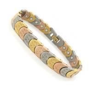Quality Golf magnetic Germanium Titanium Bracelet with fashion design for kids for sale