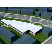 China Durable Prefab Metal Storage Buildings for sale