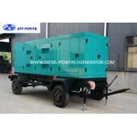Quality Standby Output 500kVA Cummins Diesel Generator With Trailer and Soundproof , KTA19-G3 for sale