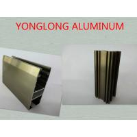 Quality Oxidizing Champagne Anodized Aluminum Profiles For Decoration / Industrial for sale