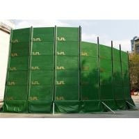Quality Portable Noise Barriers 40dB noise absorption for Construction Site and Temporary Construction Fence for sale