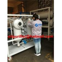 Single Stage Insulating Oil Filtering Machine, Switchgear Oil Treatment Plant, Transformer Oil Degassing Vacuum Purifier for sale