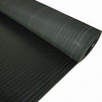 Quality 3mm x 1.2m x 10m Checker Rubber Sheet, 4mPa, 70 Shore A, 250%,Different Colors are Available for sale