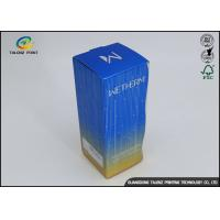 Quality OEM Offset Printing Facial Cleanser Toner Packaging Box Cosmetics Box for sale