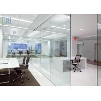 Popular Aluminium Office Partition Soundproof / Heat Insulation For Office Wall