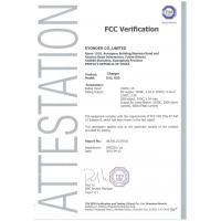 Eyonder Co.,Limited Certifications