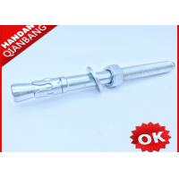 Carbon Steel M12 Wedge Type Anchor Bolts With Washer And Nut Free Samples
