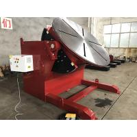Quality 10 T 2 Axies Welding Turn Table , Foot Pedal Tilting Rotation Arc Welding Table for sale
