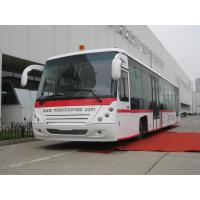 Quality PPG Painting Diesel Engine 14 Seat Aero Bus Apron Passenger Bus for sale