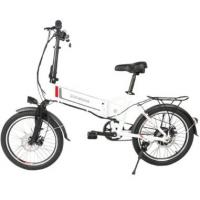 Quality WWW.YOLCART.COM Samebike 20LVXD30 Smart Folding Moped Electric Bike E-bike - WHITE EU PLUG for sale
