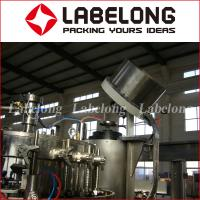 Quality High Speed Carbonated Liquid Filling Machine Automatic PLC Control BV Certification for sale
