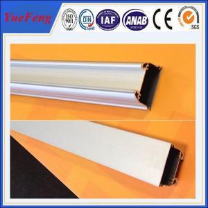 Quality 6000 series aluminium extrusion alloy profile,color coated aluminium wardrobe door Profile for sale