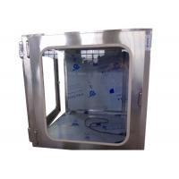 Quality CE Hepa Filter H13 / H14 Cleanroom Pass Box For Pharmaceutical for sale