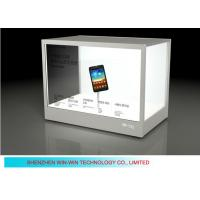 China IR Touch Screen Wifi LCD Transparent Display For Jewelry / Gem Stone on sale