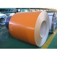 Buy cheap PPGL - Prepainted Galvalume Steel Coil 0.16 x 914 mm AZ50 Orange Made in China from wholesalers