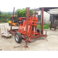 Quality Trailer mounted water well drilling rig for sale