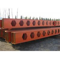 Honeycomb Structural Steel Beams Q235b Q345b Grade For Main Support for sale
