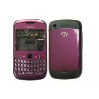 Quality Purple, White Replace BlackBerry Cell Phone Housing for Curve 8520 / 8530 include LCD Lens for sale