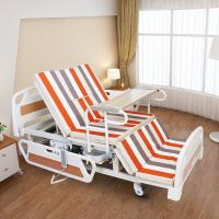 Quality Medical Equipments Electric Nursing Bed With Jiecang Motor Punching Bed Board for sale