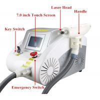Quality 40 - 1200MJ Q Switch Laser Tattoo Removal Machine Portable For Pigment Removal for sale