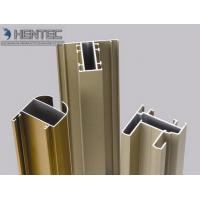 Quality Gold Anodized Aluminum Window Extrusion Profiles , Extruded Aluminum Window Frame for sale