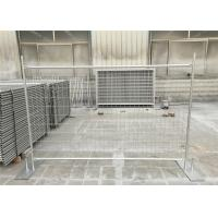 Quality Professional Portable Temporary Fence Panels With Temporary Fence Stay for sale