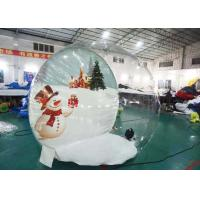 Buy cheap Customize TPU Inflatable Bubble House for Show from wholesalers