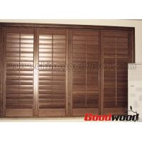 Quality Adjustable Louver Window Plantation Basswood Shutter for sale