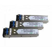 1.25G 1310nm 20km SFP Transceiver Module LVPECL Data Interface Meet Laser Class1 for sale