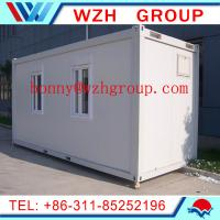 China standard 20ft container house / container house villa on sale