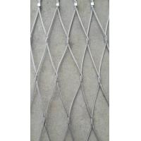 Quality good quality ferruled and knotted rope mesh for sale