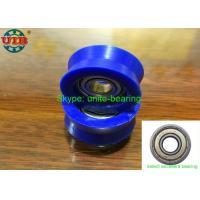 Quality High Carbon Steel Bearing Housing Types , 605 ZZ Plastic Wrapped Wheel Bearing for sale