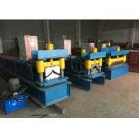 Buy Ridge Cap Roll Forming Machine PPGI Color Steel Corrugated Roof Sheet at wholesale prices