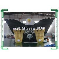 Quality Sporting Giant Inflatable Eagle Tunnel , Custom 3d Inflatable Tubular Tunnel for sale