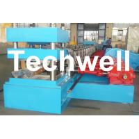 Quality 2 - 4mm W Beam Wave Guardrail Roll Forming Machine for Making Highway Guardrail for sale