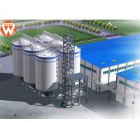Quality Feed Pellet Plant Auxiliary Equipment Livestock Feed Silo SGS Approval for sale