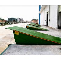 Quality Warehouse Loading Dock Lift Systems , 8 Ton Steel Yard Ramp Truck Dock Leveler for sale