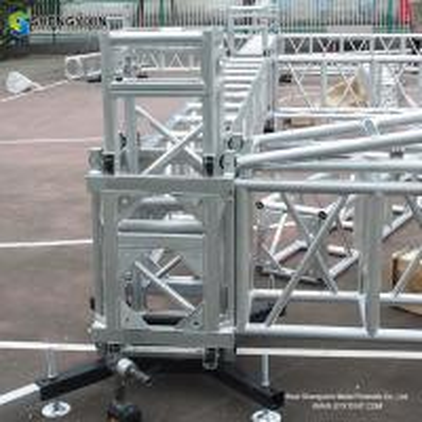 Buy Aluminum triangular roof truss system Top quality 290mm aluminum frame truss structure/Event Aluminum Spigot/Bolt Truss at wholesale prices