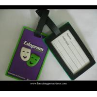 Quality Hot sale Lovely and Colorful Travel Using Cheap Custom PVC Luggage Tag for sale