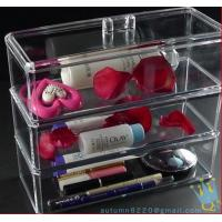 Quality clear makeup drawer organizer for sale