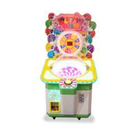 China Lollipops Candy Gift Vending Machine Coin Operated Games Arcade Cartoon Candy Amusement Game Machine for kids on sale