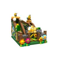 Quality Colourful Inflatable Honeybee Fun Amusement Park With CE UL Certification for sale