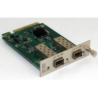 Quality 2 Channel Manageable Media Converter Optical Converter Card 850nm for sale
